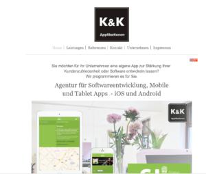 Online Marketing für eine App Agentur in Wiesbaden