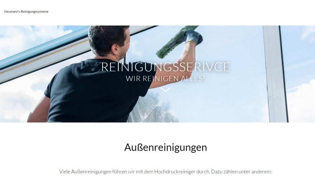 Online Marketing für eine Reinigungsfirma bei München