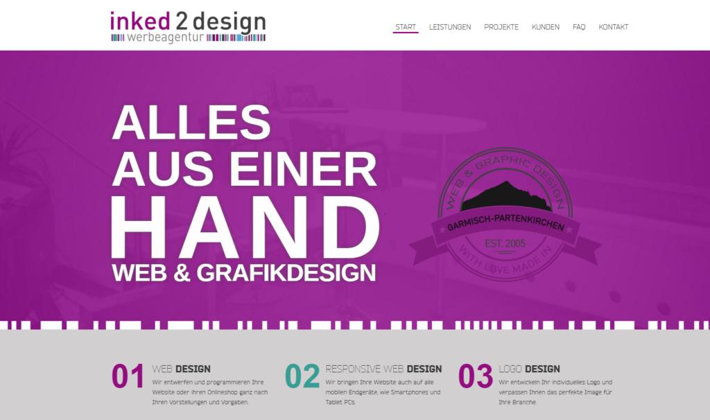 Online Marketing für eine Grafik und Webdesign Agentur