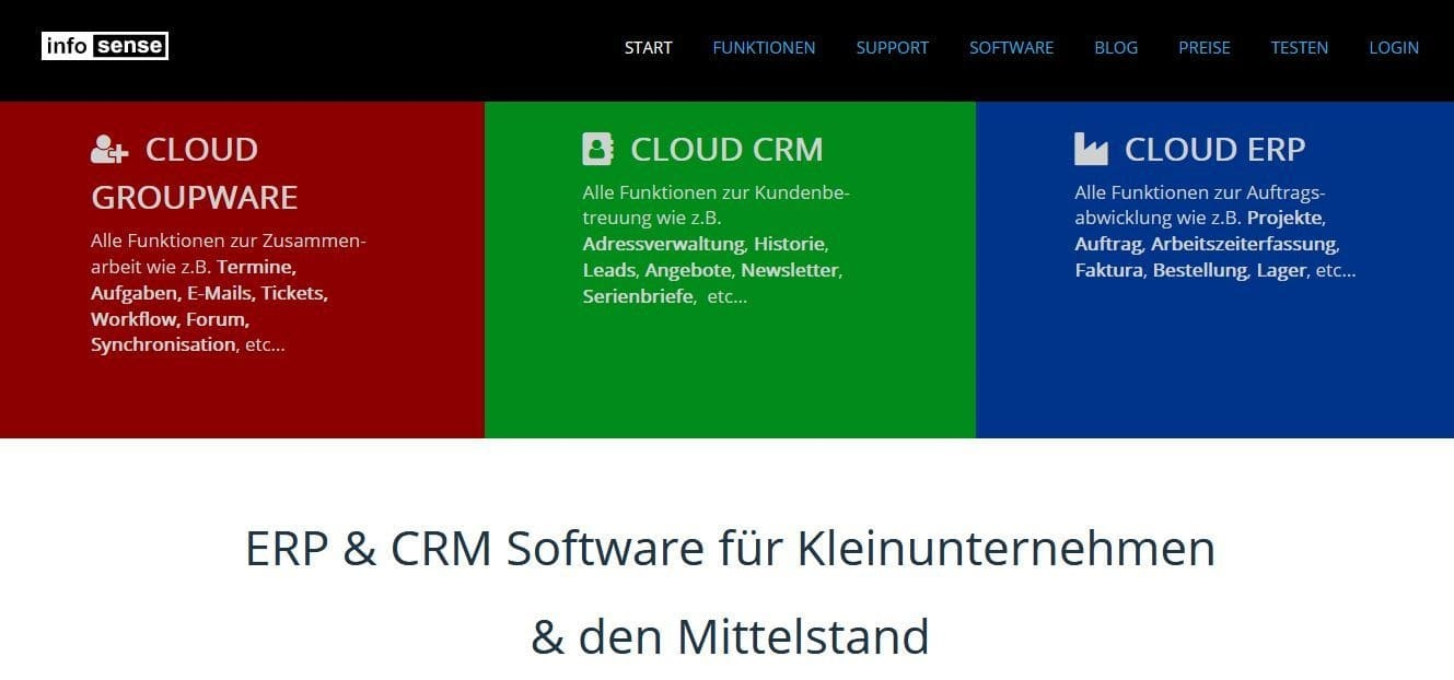 online marketing für erp und crm software