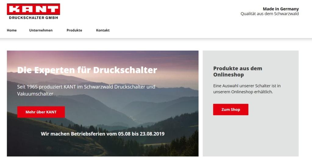 Online Marketing für Druckschalter