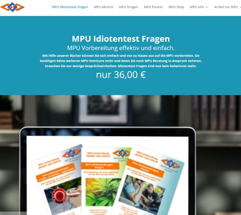 Online Marketing für MPU Bücher