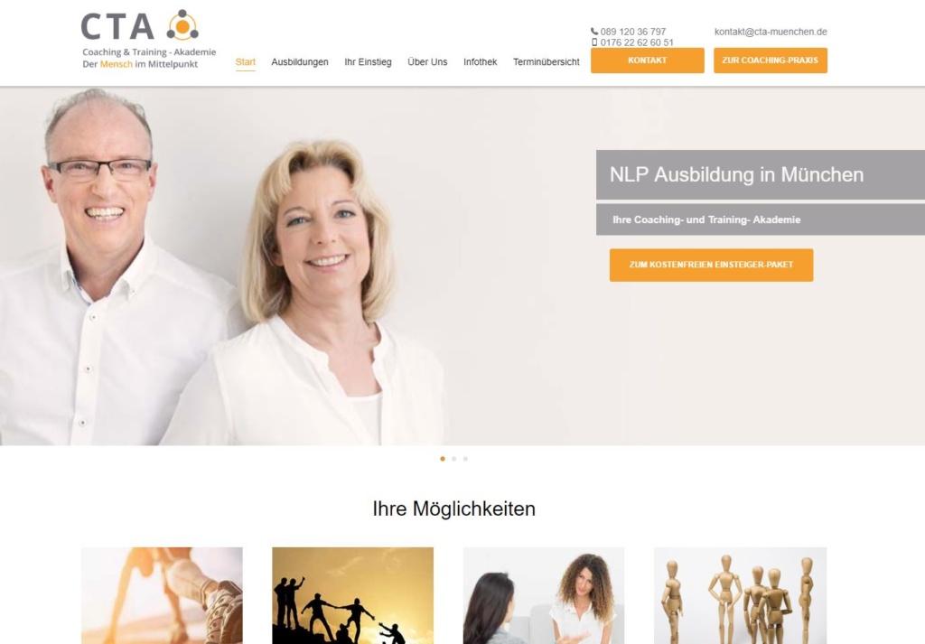 Online Marketing für NLP Ausbildungen