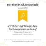 Spezialist Suchmaschinenwerbung 2019